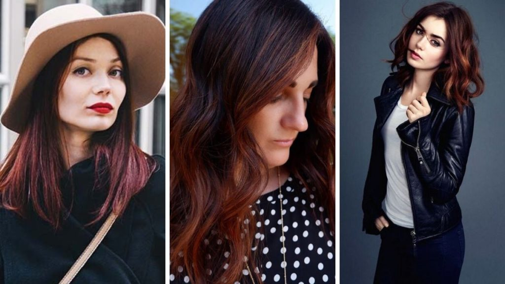 chocolate chili hair, ciemne włosy, brązowe włosy, czerwone włosy, czekoladowe włosy