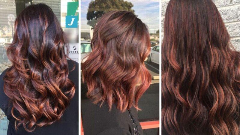raspberry bourbon, malinowy burbon, malinowe wlosy, brązowe włosy, czerwone włosy