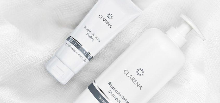 kosmetyki do włosów clarena, clarena trichology line, komsetyki clarena opinie