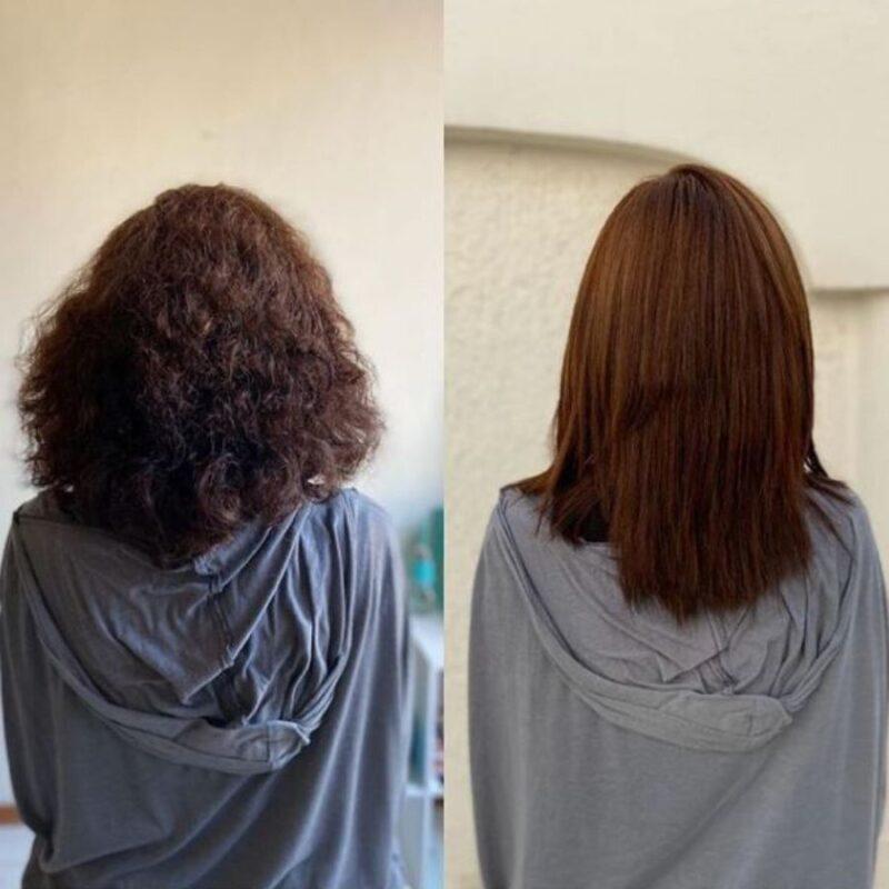 nanoplastia włosów, nanoplastia, prostowanie keratynowe, prostowanie włosów