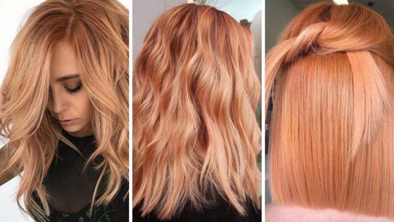 dyniowy róz, pumpkin rose hair, trendy 2020, dyniowe włosy, różowe wlosy