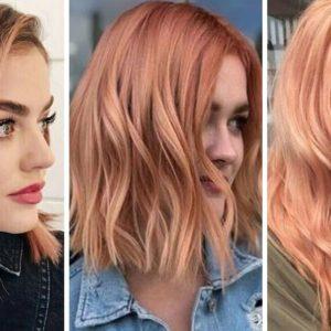 pumpkin rose hair, dyniowy róż, dyniowe włosy, różowe włosy