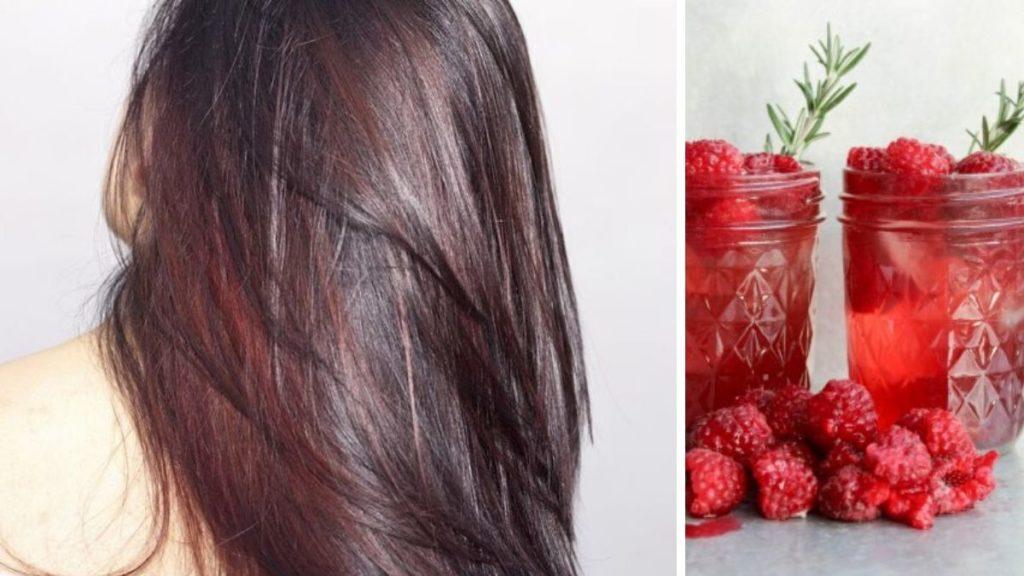 raspberry bourbon, malinowy burbon, malinowy bourbon, czerwone włosy, brązowe włosy, modna koloryzacja 2020