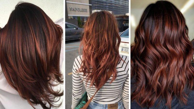 włosy czekoladowy brąz