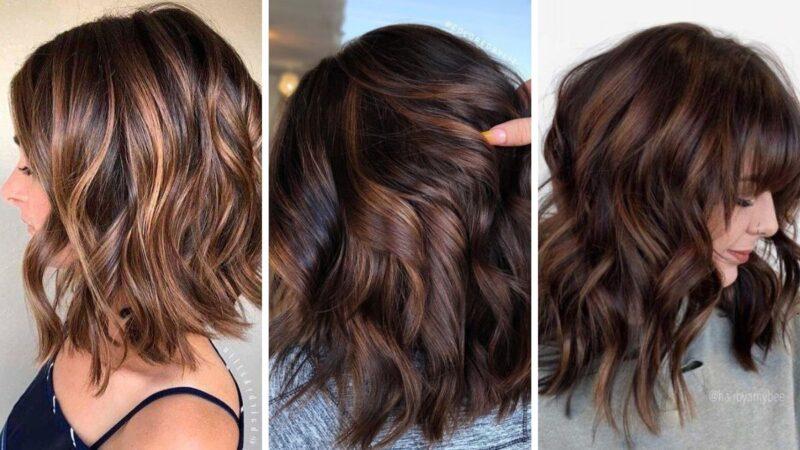 chocolate cake hair, czekoladowe włosy, brązowe włosy, trendy koloryzacja 2020