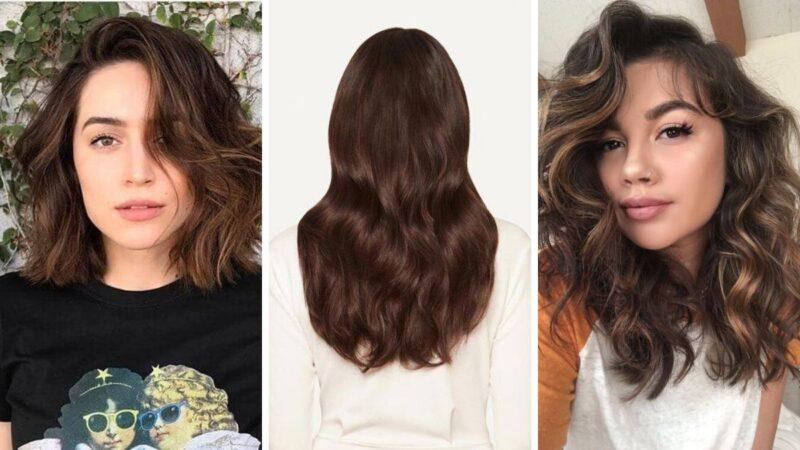 czekoladowe włosy, chocolate cake hair, modne kolory na wiosnę