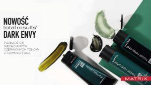 matrix total results dark envy, szampon do ciemnych włosów, jak zneutralizować czerwne refleksy