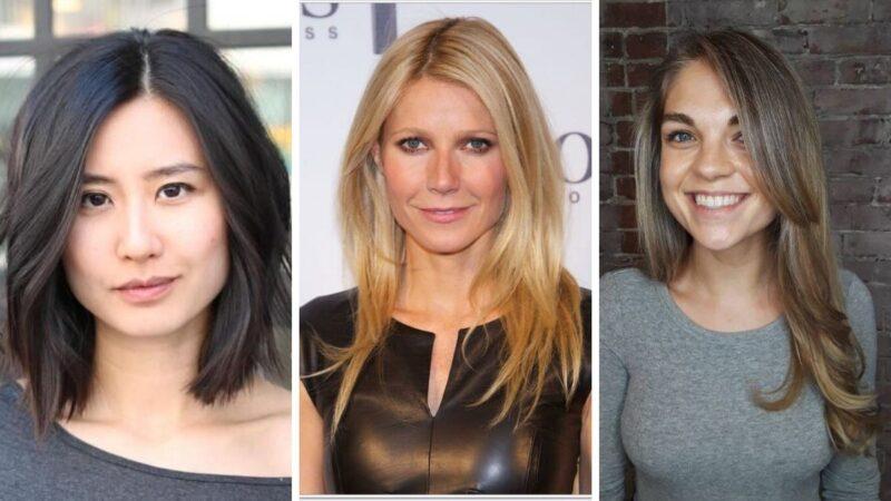 kwadratowa twarz fryzury, fryzury dla kwadratowej twarzy