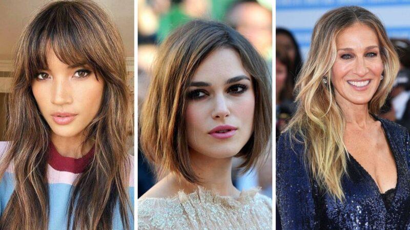 twarz prostokątna fryzury, fryzury dla prostokątnej twarzy