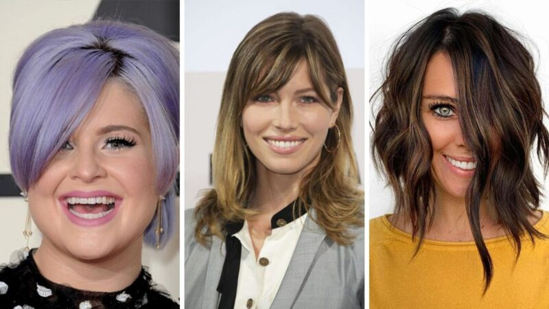 fryzury trójkątna twarz, fryzury dla trójątnej twarzy, fryzury dla sercowatej twarzy, sercowata twarz fryzury