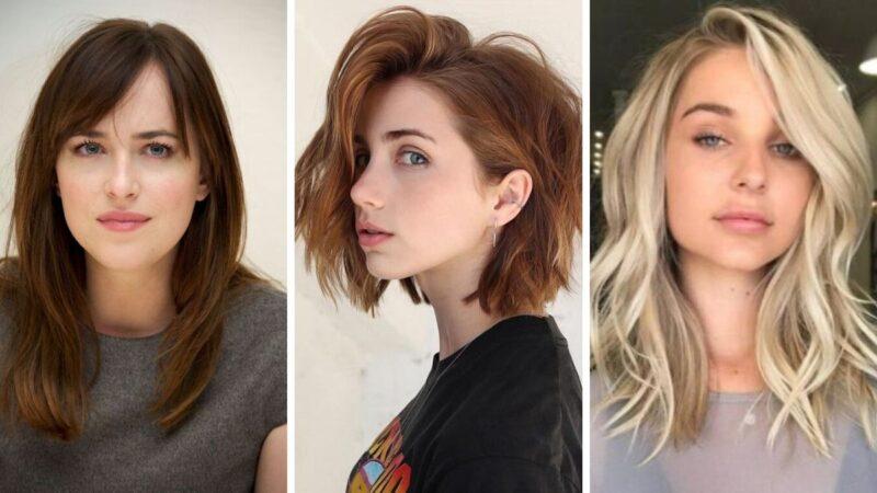 fryzury dla okrągłej twarzy, jaka fryzura dla okrągłej twarzy