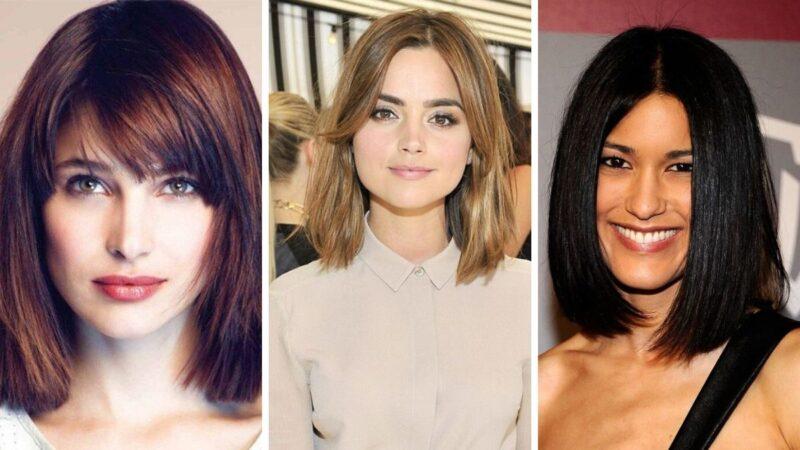 fryzury dla twarzy kwadratowej, kwadratowa twarz fryzury, fryzury dla kwadratowej twarzy