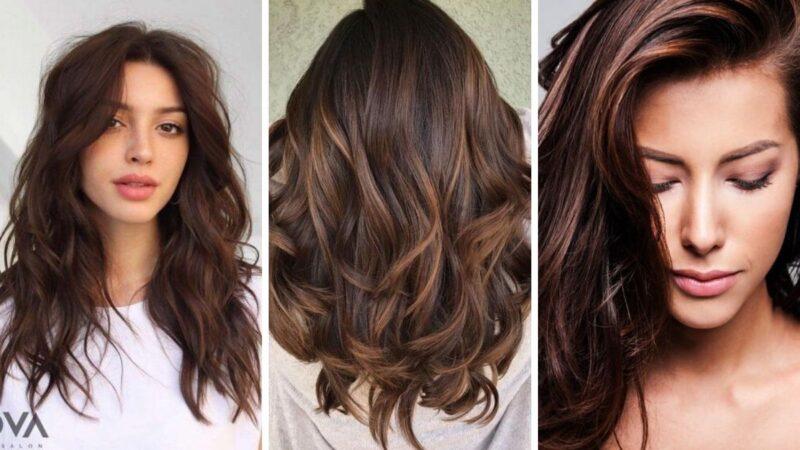chocolate cake hair, modne kolory włosów, brązowe farby do włosów