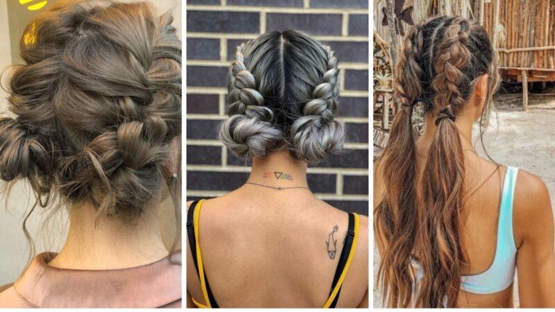 pomysły na damskie fryzury, fryzury dla kobiet 2020, fryzury z długich włosó, fryzury długie włosy, warkocze