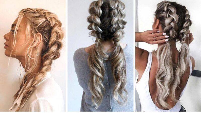 warkocze bokserskie, warkocze z długich włosów, długie warkocze, warkocz dobierany, warkocze pomysły na fryzury