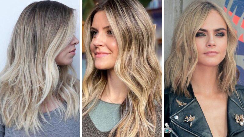 wheat blonde, włosy blond, kolory blond, koloryzacja na wiosnę, modne kolory włosów 2020