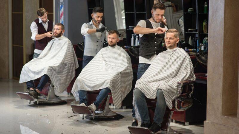 narzędzia dla barbera, akcesoria dla barbera, salon barberski