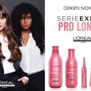 nowe kosmetyki do długich włosów loreal, kosmetyki do pielęgnacji długich włosów, loreal pro longer