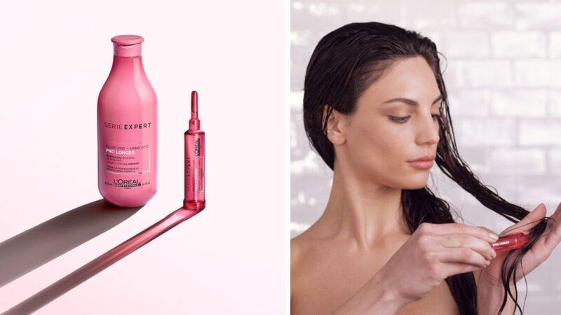 seria loreal pro longer, kosmetyki do długich włosów