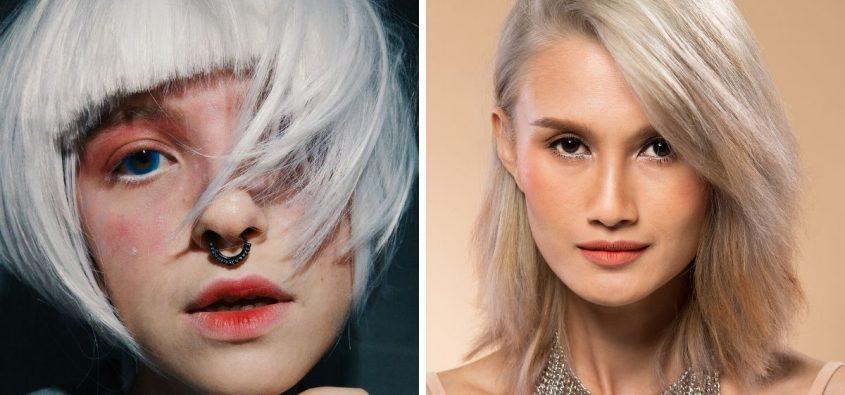 siwe włosy, pielęgnacja siwych włosów, jak dbać o siwe włosy