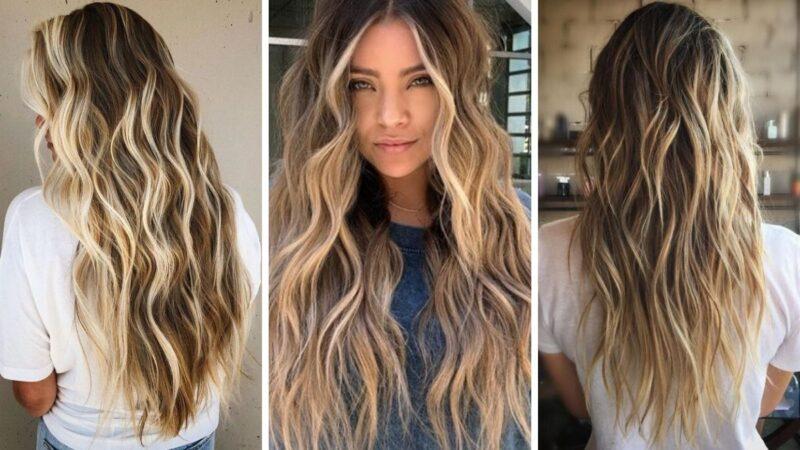 falowane włosy, fryzury na wakacje, beach waves