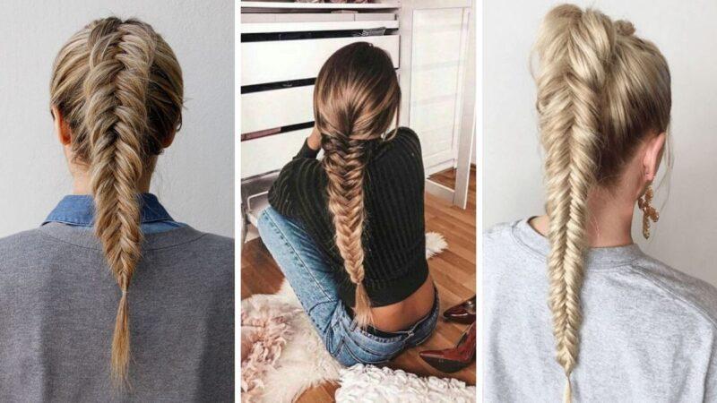 fryzury z długich włosów, pomysły na fryzury, pomysły na warkocze