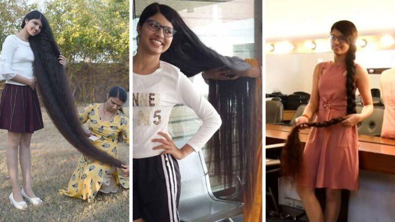 najdłuższe włosy świata nastolatki, nilashi patel