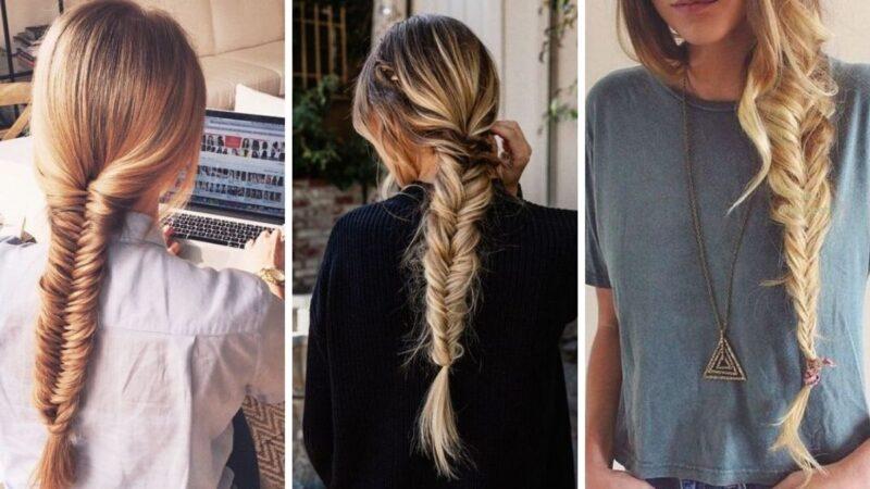 pomysły na warkocze, fryzury na lato