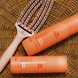 recenzja kosmetyków wella invigo nutri-enrich, kosmetyki wella invigo nutri enrich, kosmetyki do suchych włosów, kosmetyki rewitalizujące, piełengacja włosów w lato