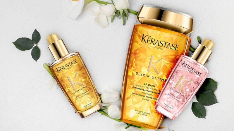 kerastase elixir ultime, olejki do włosów kerastase