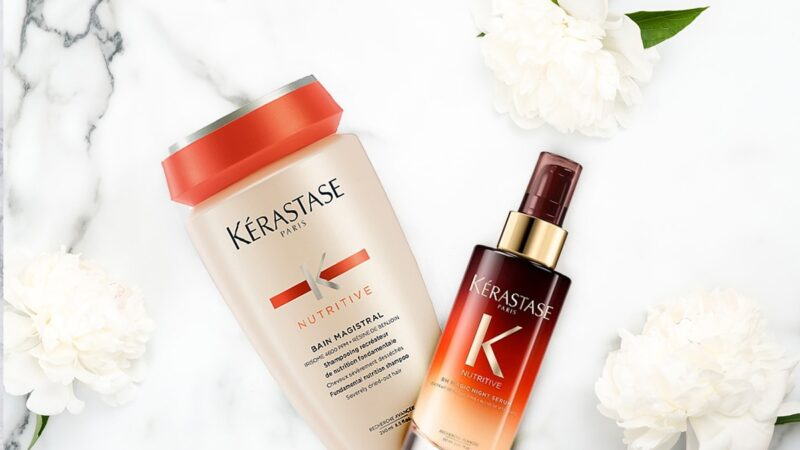 kosmetyki do suchych włosów, kerastase nutritive