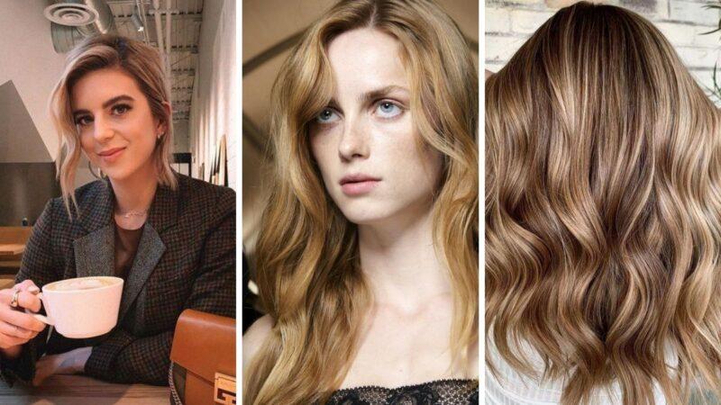 ciepły odcień blondu, ciepły blond