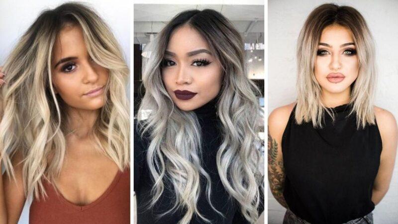 ciemne odrosty, kontrastowe odrosty, odrosty na włosach, trendy na włosach 2020