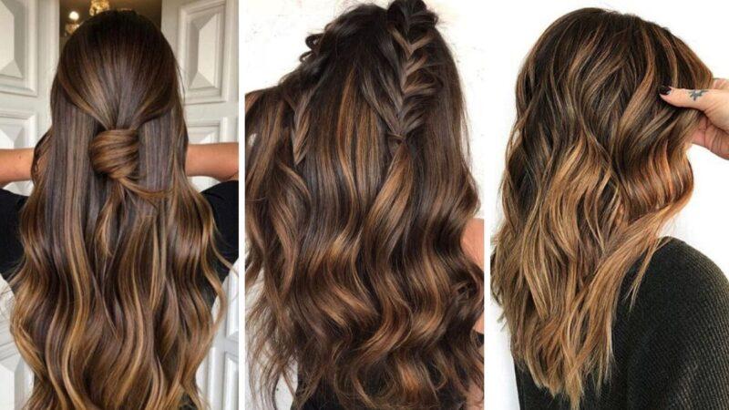 czekoladowy brąz, brązowe włosy, chocolate bronze hair