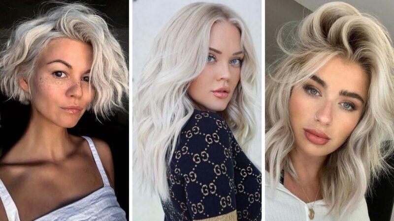 ice blonde, lodowy blond, zimny blond, białe włosy, platynowe włosy