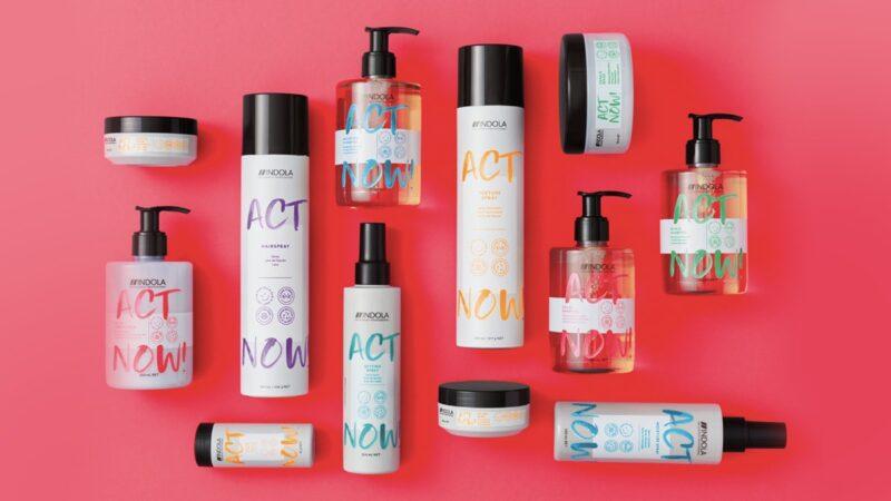 Nowość! Indola Act Now, czyli wegańskie kosmetyki do włosów