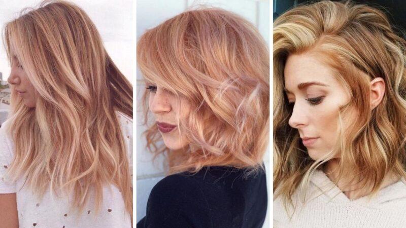 strawberry blonde, truskawkowy blond