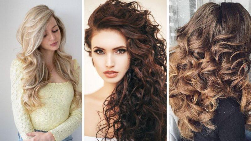 burza loków, lokowane włosy, loki fryzury
