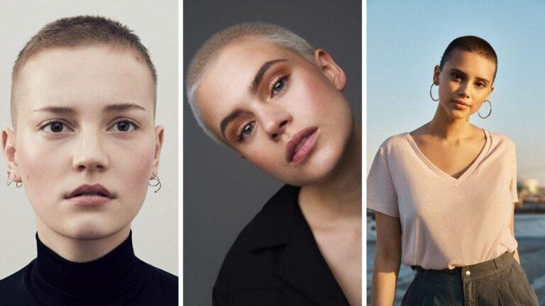 buzz cut, buzz haircut, buzz cut kobiety, krótkie fryzury dla kobiet, trendy we fryzurach 2020