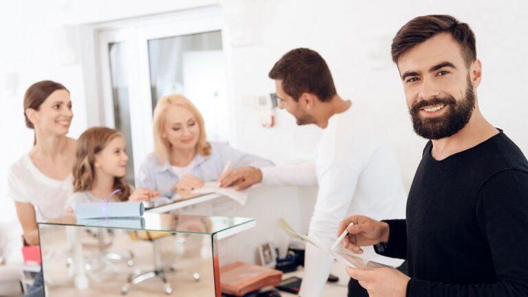 recepcja fryzjerska, recepcje fryzjerskie, recepcja salon fryzjerski, jak urządzić recepcję w salonie fryzjerskim