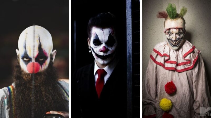 straszny clown, clown morderca