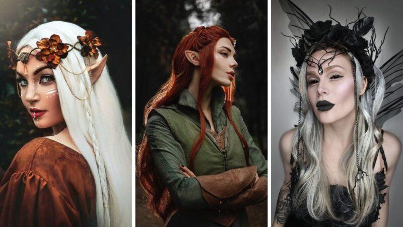 fairy tail makeup, makijaż na wróżkę, elfia wróżka