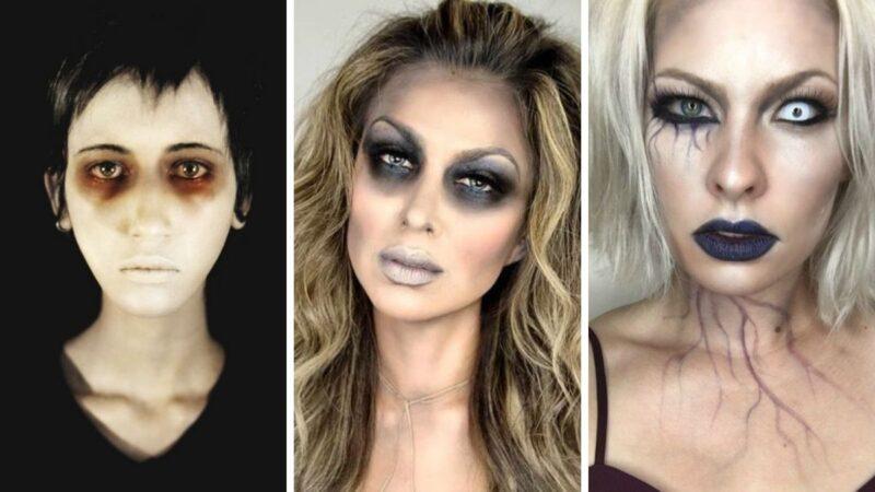 makijaż zombie, stylizacja zombie, charakteryzacja zombie