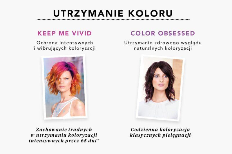 ochrona koloru włosów, pielęgnacja włosów farbowanych