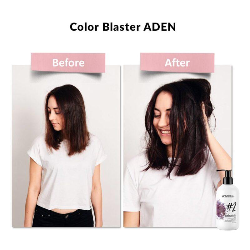 indola color blaster aden efekt