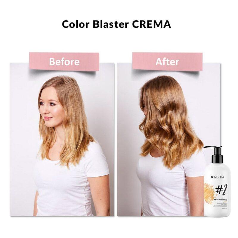 indola color blaster crema efekt