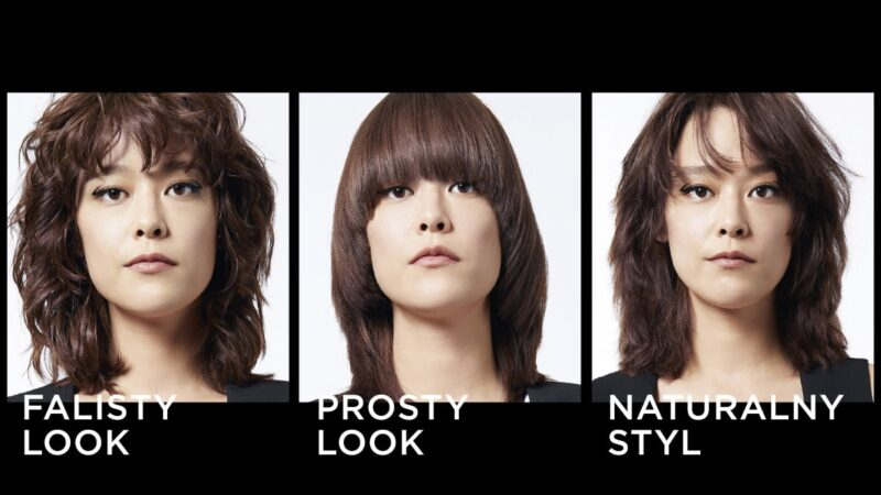jak stylizować włosy za pomocą steampod, steampod efekty