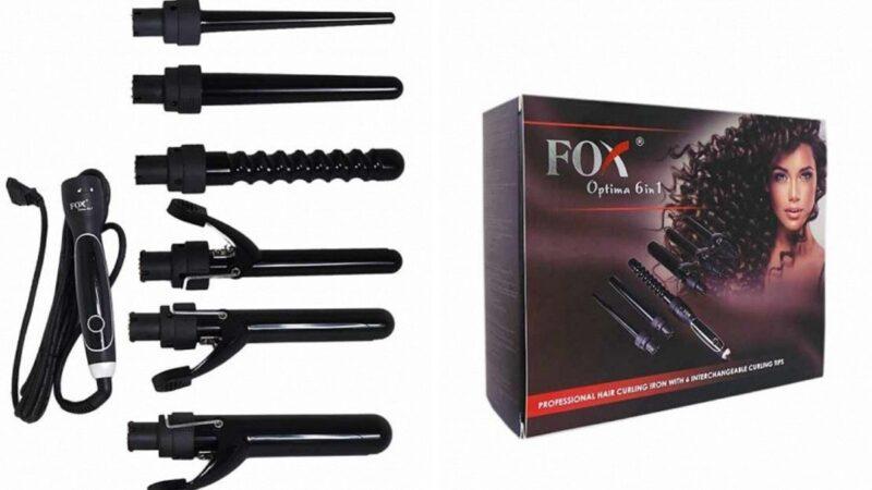 lokówka do włosów fox optima, fox optima 6w1