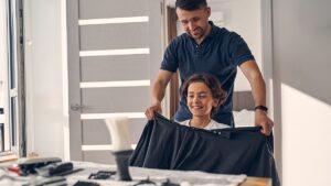 fryzjer mobilny, fryzjer ruchomy, fryzjer do domu