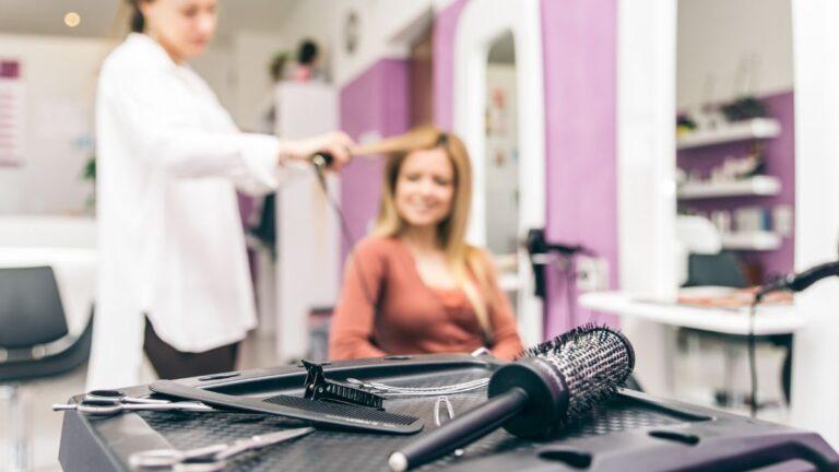 labory do salonu fryzjerskiego, labor